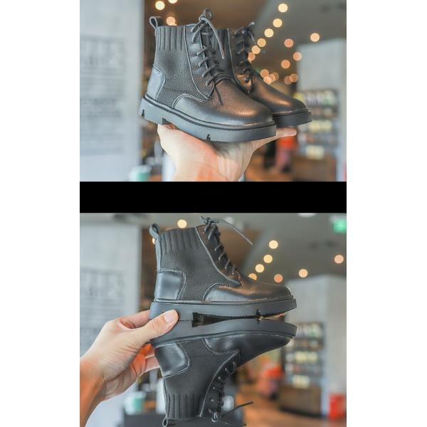 ブーツ キッズ マーチンブーツ ショートブーツ ショート 靴 キッズシューズ ジュニア 女の子 シューズ 子供靴 おしゃれ ローヒール 秋 冬 15.5-22.0cm|glanz-shop|07