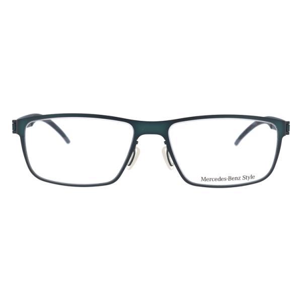 メルセデスベンツ 伊達 度付き 度入り メガネ 眼鏡 フレーム M6044-D 57サイズ MercedesBenz