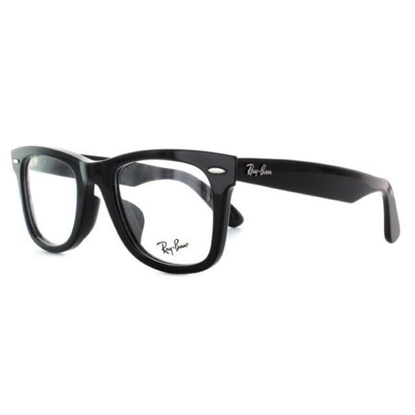訳あり レイバン Ray-Ban 伊達 度付き 度入り メガネ 眼鏡 フレーム ウェイファーラー RX5121F 2000 50 RB5121F 海外正規品|glass-expert|02