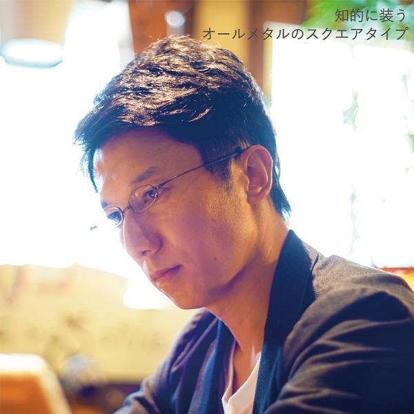 老眼鏡 しおり 女性用 おしゃれ レディース 折りたたみ 薄型 男性用 メンズ スリム 栞 シニアグラス SHIORI スクエア SI-02SA|glass-garden|09