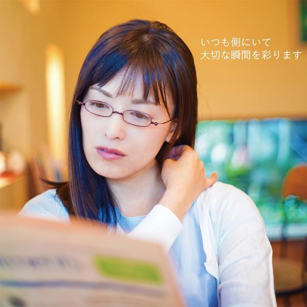 老眼鏡 しおり 女性用 おしゃれ レディース 折りたたみ 薄型 男性用 メンズ スリム 栞 シニアグラス SHIORI スクエア SI-02SA|glass-garden|10