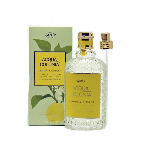 4711 フォーセブンイレブン アクアコロニア レモン&ジンジャー EDC 170ml (フレグランス)|glass-oner