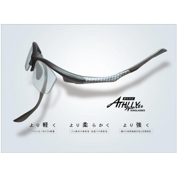 メガネ 度付き 度つき スポーツ 度付きメガネ アスリーAT6025 度付き メガネ 眼鏡 めがね 1.74超薄型レンズまで選べる度付き 調光 glasscore 02