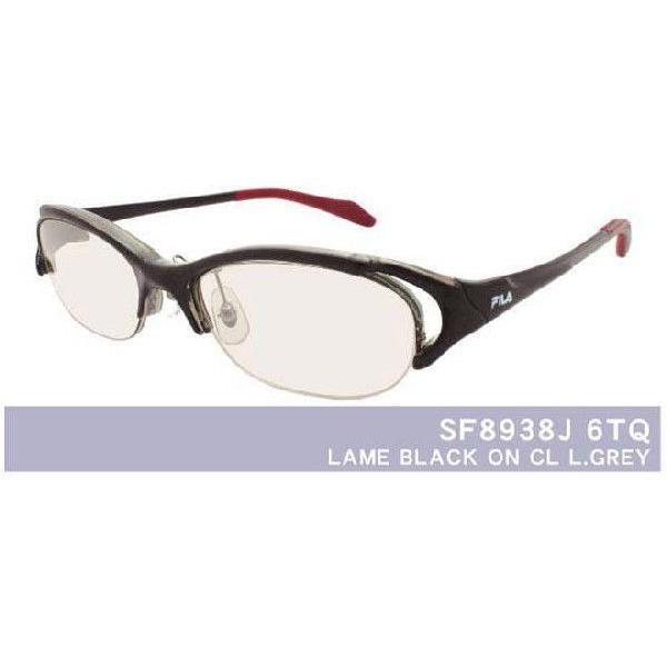 メガネ 眼鏡 めがね FILA/フィラスポーツ8938 1.74超薄型非球面レンズ カラーレンズ 度付き メガネセット サングラス glasscore 03