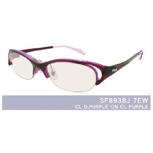 メガネ 眼鏡 めがね FILA/フィラスポーツ8938 1.74超薄型非球面レンズ カラーレンズ 度付き メガネセット サングラス glasscore 05