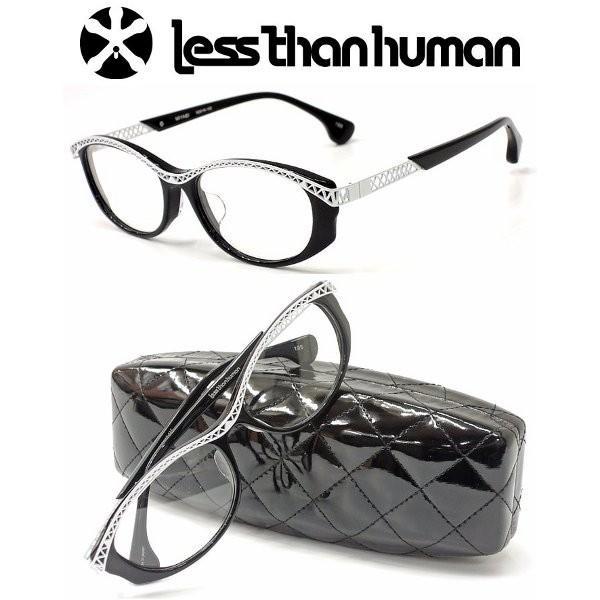 【less than human】レスザンヒューマン MIYABI col.195 2017年NEWMODEL 度無しダテメガネレンズ付き【正規品】【店内全品送料無料】