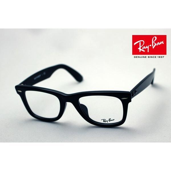 レイバン メガネ 大ヒットモデル Ray-Ban ウェイファーラー 伊達メガネ RX5121F 2000|glassmania