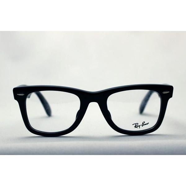 レイバン メガネ 大ヒットモデル Ray-Ban ウェイファーラー 伊達メガネ RX5121F 2000|glassmania|02