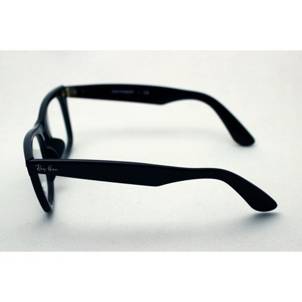 レイバン メガネ 大ヒットモデル Ray-Ban ウェイファーラー 伊達メガネ RX5121F 2000|glassmania|05