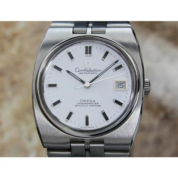 hot sales 9498b 526f5 仕上げ済 オメガ コンステレーション OMEGA メンズ腕時計 中古 自動巻き Cal 1001 クロノメーター ヴィンテージ アンティーク 極美品