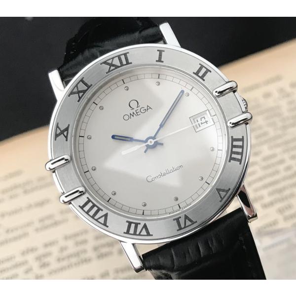 reputable site 947ae 4eacc 仕上げ済み オメガ コンステレーション クオーツ ヴィンテージ アンティーク メンズ腕時計 極上品