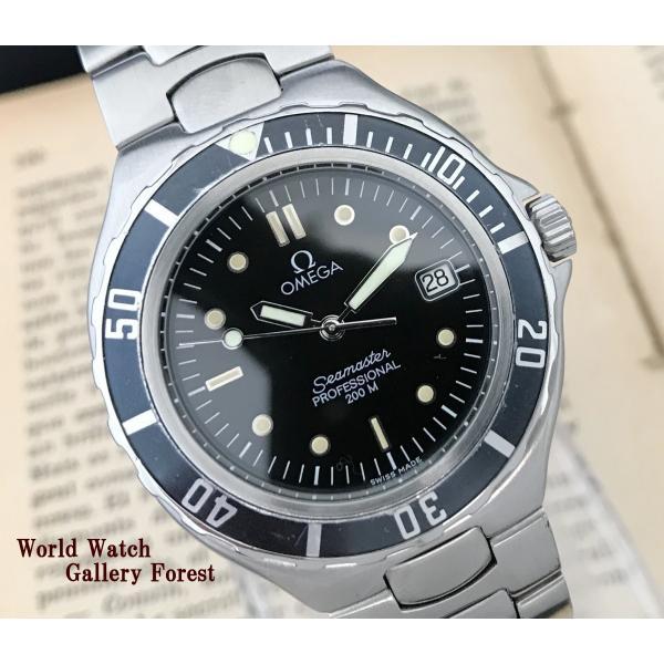 sale retailer cc7cd e8364 仕上げ済み オメガ OMEGA シーマスター プロフェッショナル 200M ヴィンテージ アンティーク クオーツ メンズ腕時計