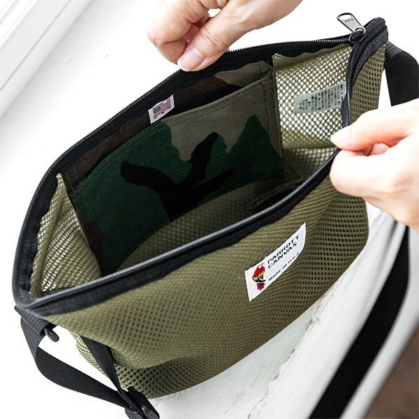 PARROTTCANVAS Mesh Shoulder Bag メッシュミニショルダーバッグ PARROTT CANVAS パロットキャンバス|glencheck|10