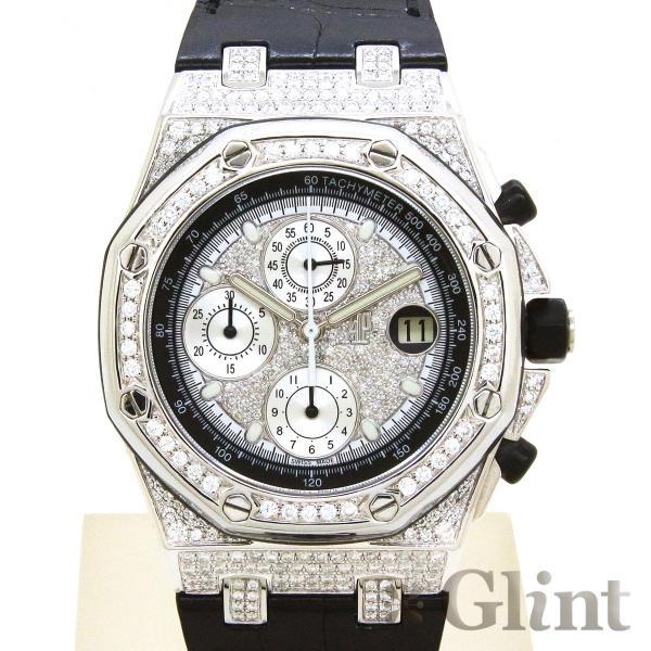 new styles 1b5cb feaed オーデマピゲ(AUDEMARSPIGUET)ロイヤルオーク・オフショア クロノグラフ 42mm ダイヤモンドモデル〔腕時計〕〔メンズ〕