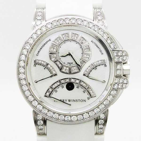 「ハリーウィンストン 時計 ダイヤ」の画像検索結果
