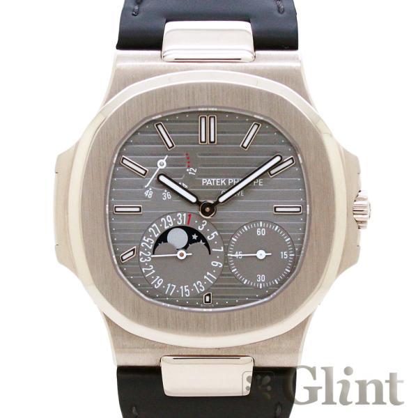 パテックフィリップ(PATEKPHILIPPE)ノーチラス5712G-00118Kホワイトゴールドプチコンプリケーション〔腕時計