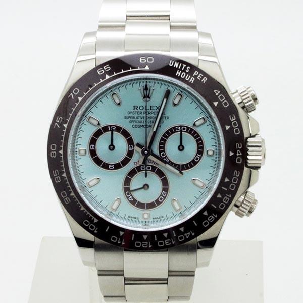 low priced dfad4 a71d7 ROLEX(ロレックス)コスモグラフ デイトナ プラチナケース アイスブルーダイヤル(Ref:116506)〔自動巻き〕〔腕時計〕〔メンズ〕  :ROLEX1003:グリント - 通販 - Yahoo!ショッピング