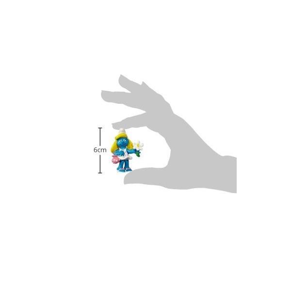 シュライヒ スマーフ スマーフェット 花 フィギュア 20421|global-work|02