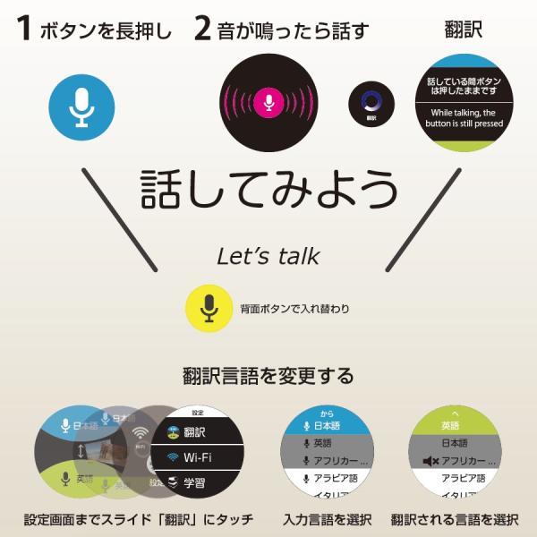 Langie(ランジー)多機能音声 翻訳機 - コミュニケーションが必要な場所で|globalmart|03