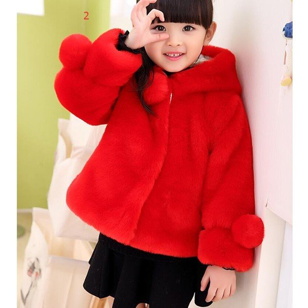 26a7bf06fa2e7 ... 毛皮コート 人気 上質 コート 上着 ジャケット ファーコート子供服 子ども おしゃれ アウター 暖かい ...