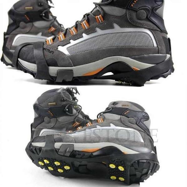 高品質真新しい雪滑り止めクリート滑り止めオーバーシューズ散りばめたアイス牽引靴カバースパイク///サイズの選択|globalstyleclub|06