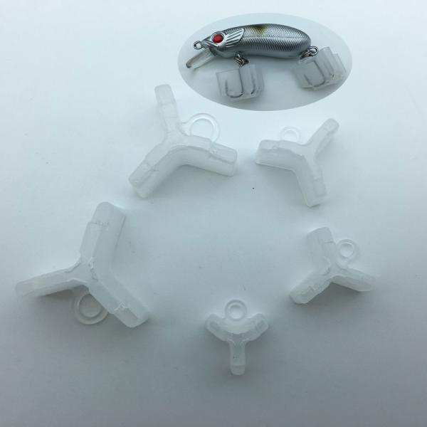 20ピース/ロット釣りトレブルフック安全カバーボンネットキャッププロテクター釣りタックルボックスアクセサリーツール