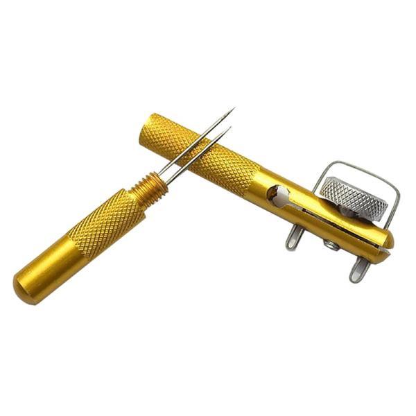 釣りアルミニウム合金釣り双頭針ノットネクタイ釣り糸ノッタ釣り針ネクタイ屋外新しい