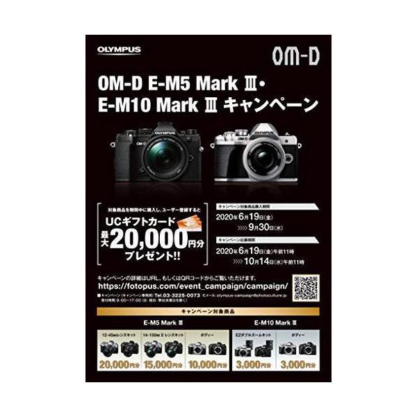 OLYMPUS ミラーレス一眼カメラ OM-D E-M10 MarkIII EZダブルズームキット シルバー globetrotter-shop 02