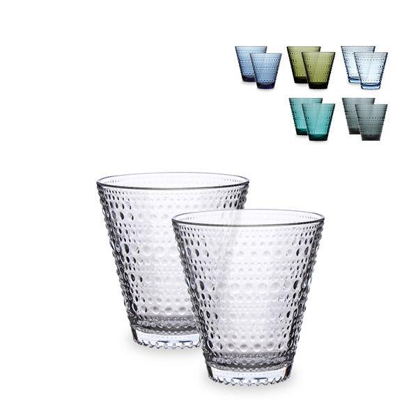 イッタラ iittala カステヘルミ タンブラー ペア グラス 2個セット 300mL 北欧 ガラス Kastehelmi Tumbler フィンランド コップ 食器