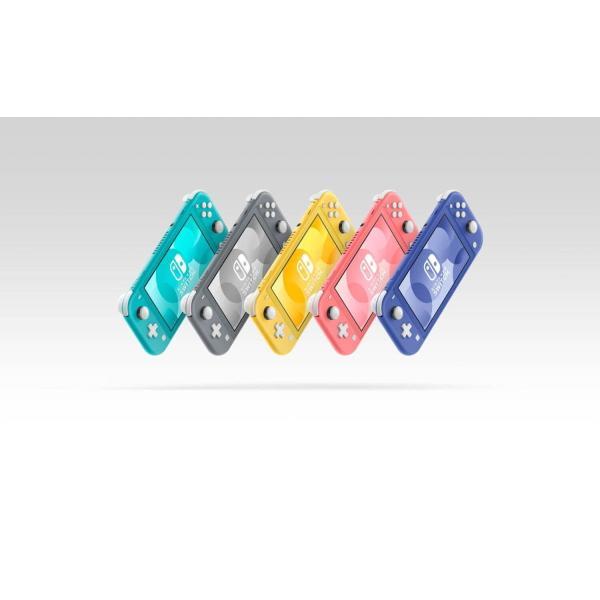 NintendoSwitchLite/任天堂スイッチライト/カラー4色イエロー・ターコイズ・グレー・コーラル
