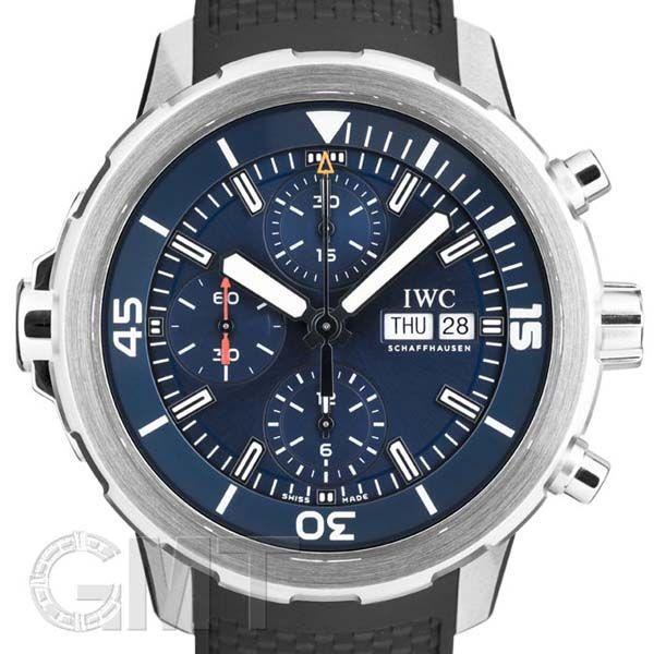 IWC アクアタイマー クロノグラフ IW376805 エクスペディション・ジャック=イヴ・クストー IWC 新品メンズ 腕時計 送料無料 年中無休|gmt