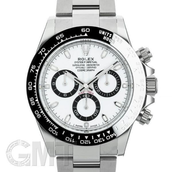 ロレックスデイトナ116500LNホワイトROLEX新品メンズ腕時計