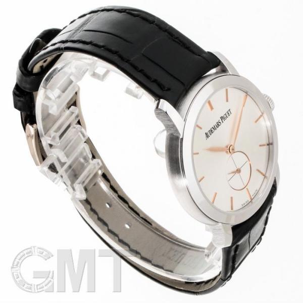 オーデマ・ピゲ ジュールオーデマ  スモールセコンド シルバー WG 77238BC.OO.A002CR.01 AUDEMARS PIGUET 新品レディース 腕時計 送料無料