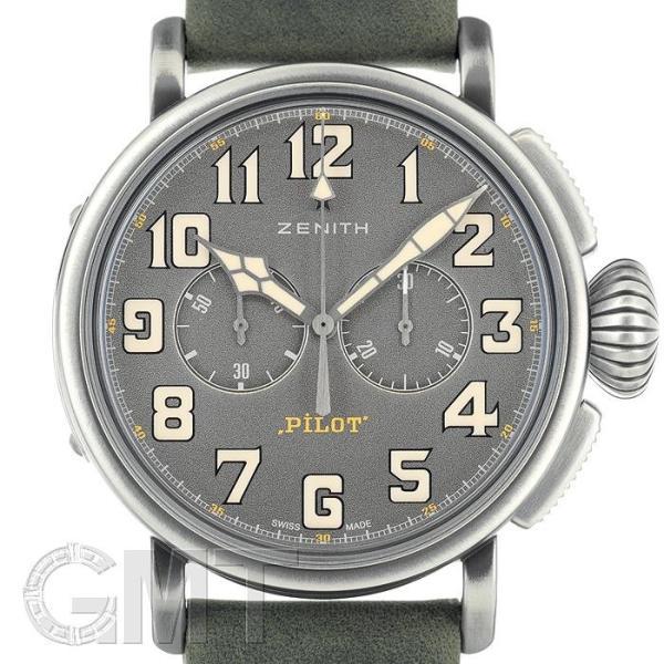ゼニス パイロット タイプ20 トンアップ 11.2430.4069/21.C773 ZENITH 新品 メンズ  腕時計  送料無料  年中無休|gmt
