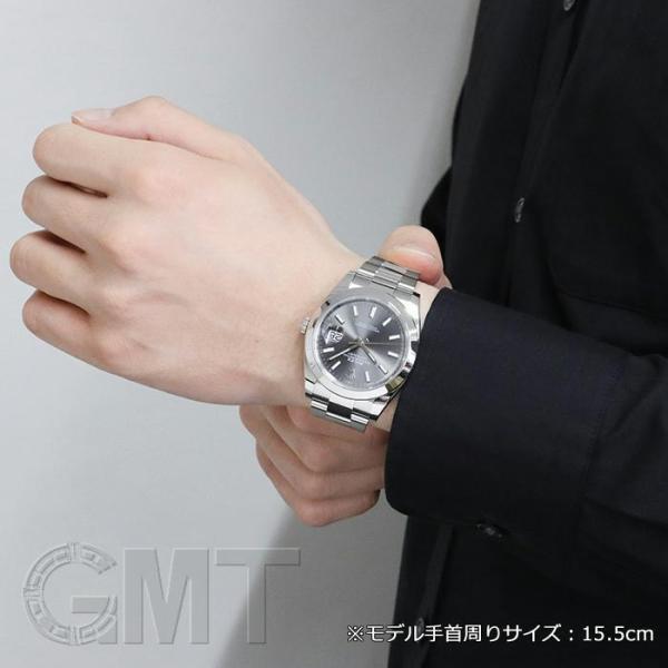 innovative design b394d 3d8a1 ロレックス デイトジャスト 41 126300 ダークロジウム オイスターブレス ROLEX 新品 メンズ 腕時計 送料無料 年中無休