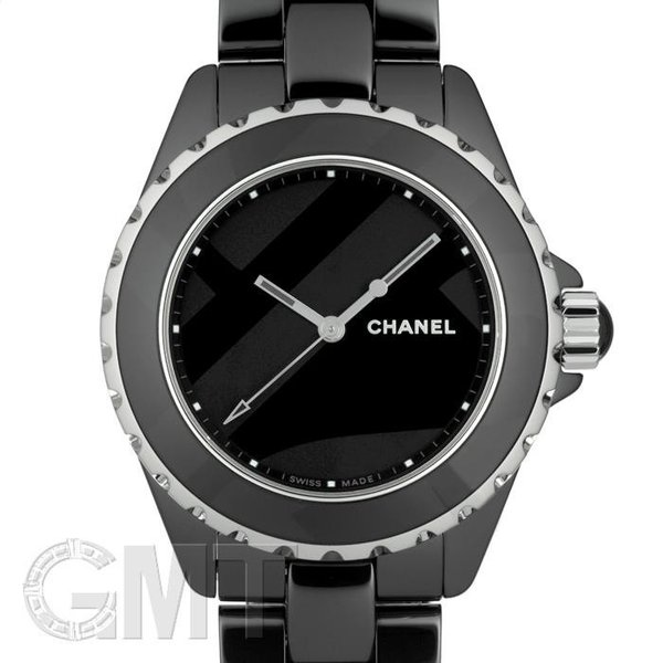 big sale 847ca 6a165 2018年新作・世界1200本限定シャネル J12 アンタイトル H5581 ブラックセラミック CHANEL 新品メンズ 腕時計 送料無料 年中無休