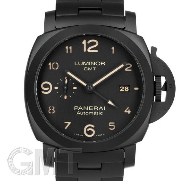 PANERAI パネライ ルミノール GMT 44mm トゥットネロ PAM01438 OFFICINE PANERAI 【新品】【メンズ】 【腕時計】 【送料無料】 【年中無休】 gmt