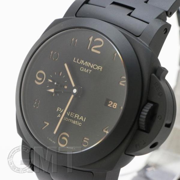 PANERAI パネライ ルミノール GMT 44mm トゥットネロ PAM01438 OFFICINE PANERAI 【新品】【メンズ】 【腕時計】 【送料無料】 【年中無休】 gmt 02