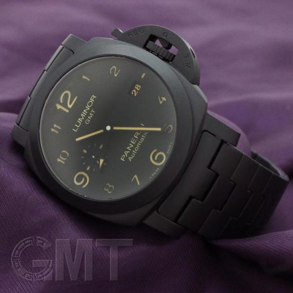 PANERAI パネライ ルミノール GMT 44mm トゥットネロ PAM01438 OFFICINE PANERAI 【新品】【メンズ】 【腕時計】 【送料無料】 【年中無休】 gmt 03