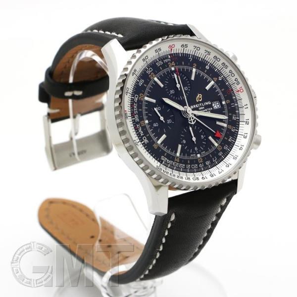 ブライトリング ナビタイマー1 クロノグラフ GMT46 ブラック A242B-2KBA BREITLING 【新品】【メンズ】 【腕時計】 【送料無料】 【年中無休】|gmt|02
