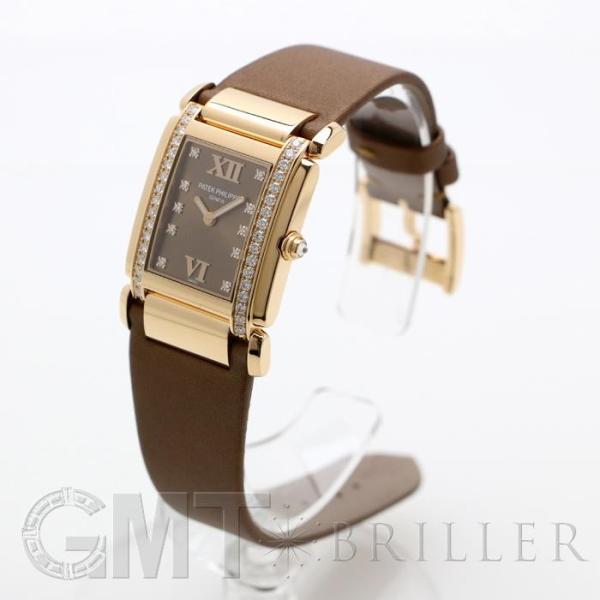 未使用品パテック・フィリップ トゥエンティ-4 ローズゴールド ベゼルダイヤ 4920R-001 PATEK PHILIPPE 未使用品レディース 腕時計