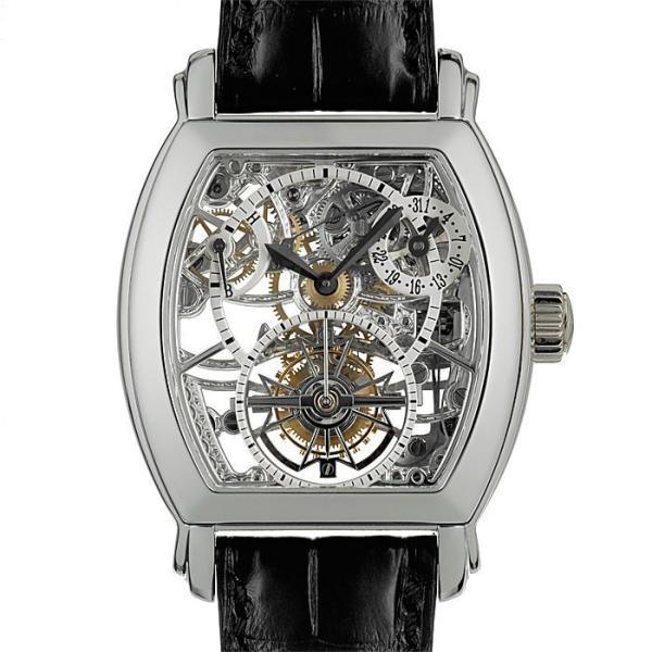 ヴァシュロン・コンスタンタン マルタ スケルトン・トゥールビヨン 30067/000P-8953 VACHERON CONSTANTIN 中古メンズ 腕時計 送料無料|gmt