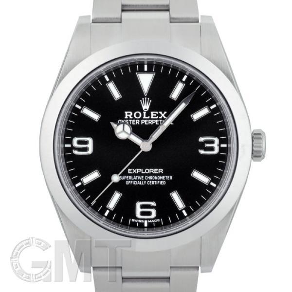 ロレックスエクスプローラI214270新型ダイヤルランダムシリアルROLEX中古メンズ腕時計