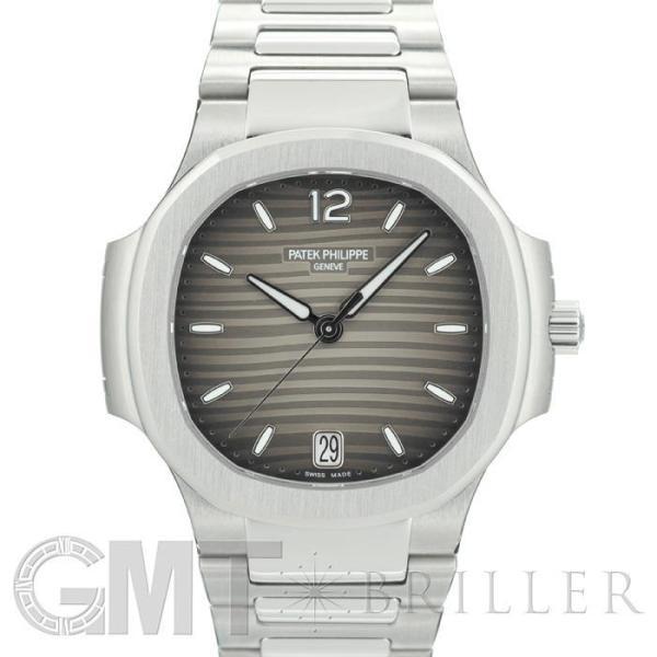 パテックフィリップノーチラス7118/1A-011スモークグレーPATEKPHILIPPE中古レディース腕時計
