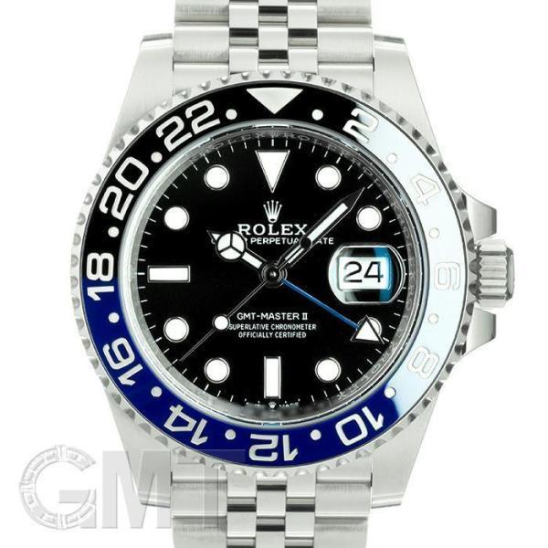 ロレックスGMTマスターII126710BLNRランダムシリアルROLEX中古メンズ腕時計