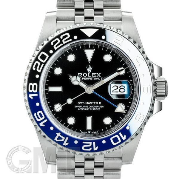 ロレックスGMTマスターII126710BLNRブルーブラックランダムシリアルROLEX中古メンズ腕時計