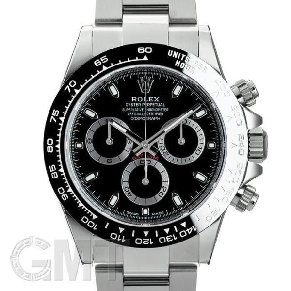 ロレックスデイトナ116500LNブラックランダムROLEX中古メンズ腕時計