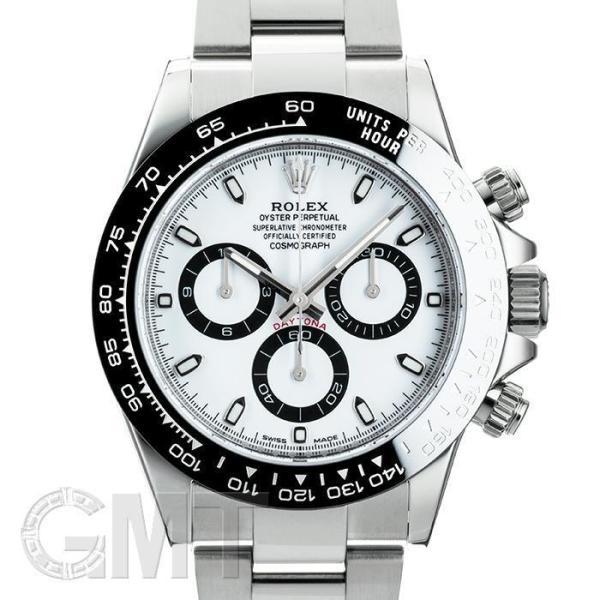 ロレックスデイトナ116500LNホワイトROLEX中古メンズ腕時計