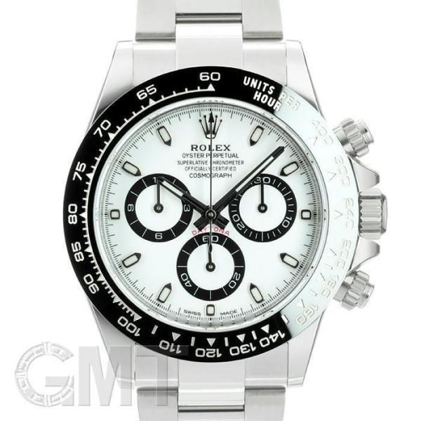 未使用/保護テープなし ロレックスデイトナ116500LNホワイトランダムシリアルROLEX未使用品メンズ腕時計