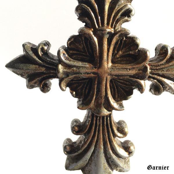 クロス 十字架 置物 デコレーション オブジェ オーナメント 飾り アンティーク バロック調 装飾 ロココ調 Sサイズ|gnb-garnier|12